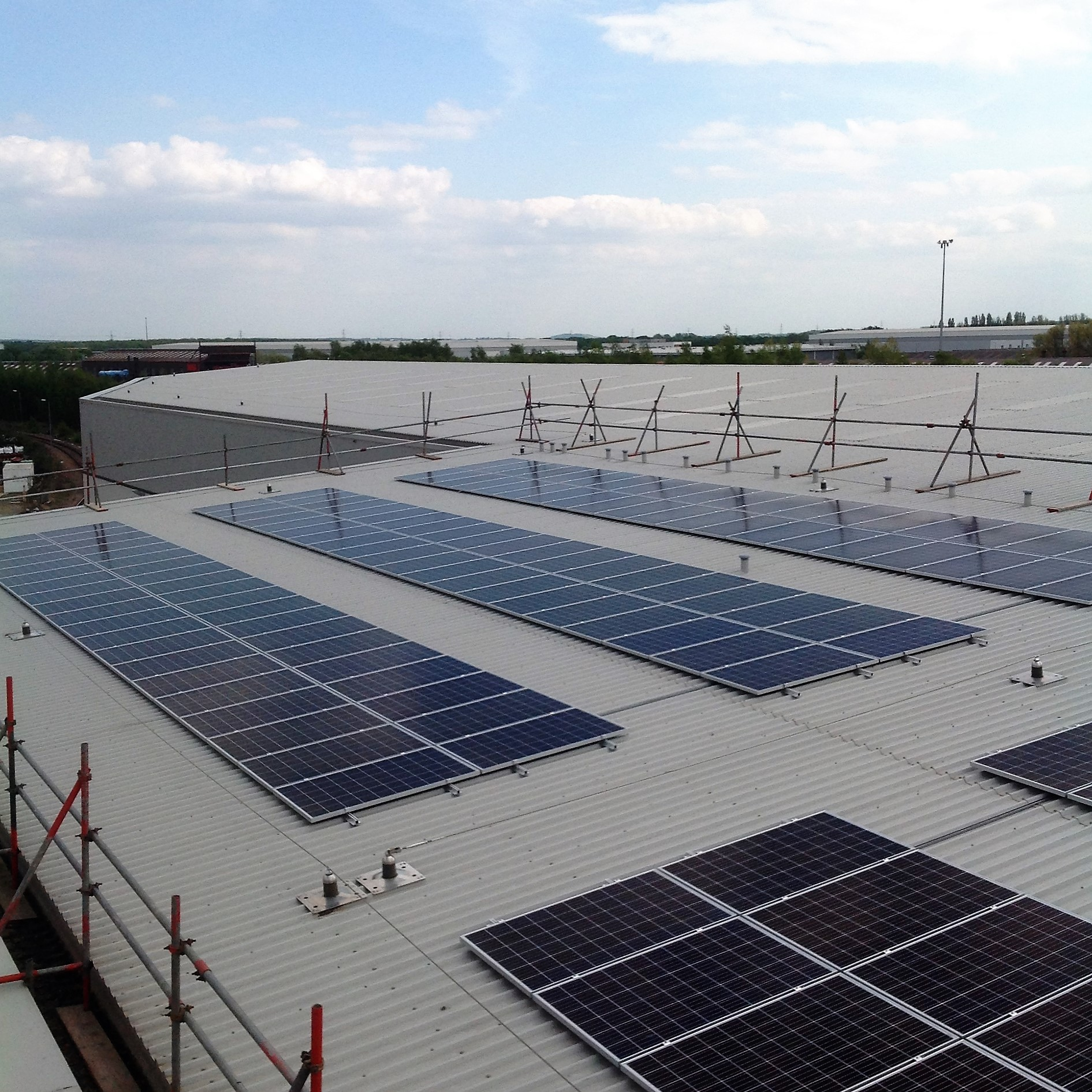 Project Commercial Solar Photovoltaic Low Carbon